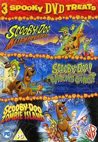 Scooby Doo - Alien Witches Zombie Island (3 DVD) - CeX (UK)  - Buy ... 1e86baf8d