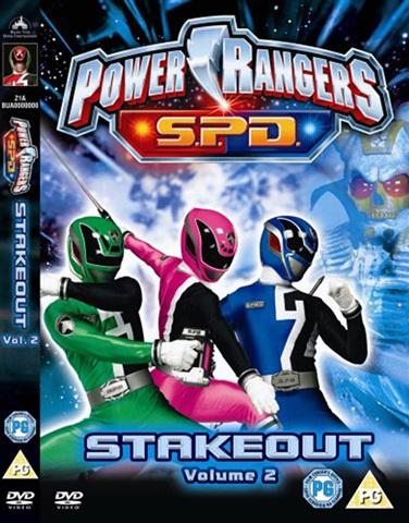 Power Rangers SPD - Vol 2