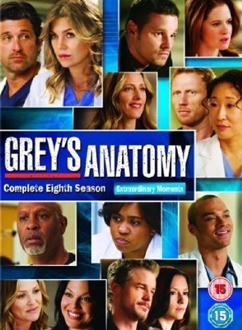 Grey\'s Anatomy - Season 8 (15) - CeX (UK): - Buy, Sell, Donate