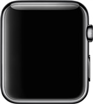 Watch FACE ONLY, Space Black, 42mm, A