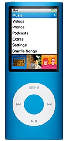 Apple iPod Nano 16GB 4th Generation Blue, C