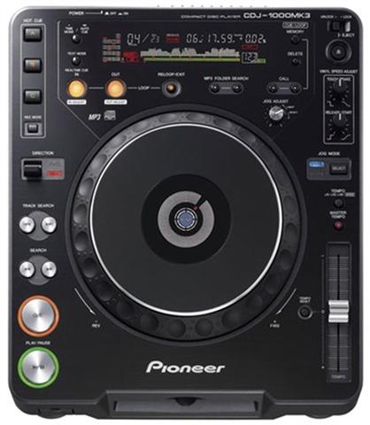 Driver UPDATE: Pioneer CDJ-1000 MK3 DJ Deck