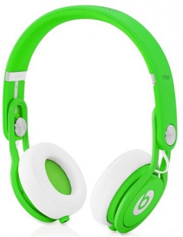 Beats Mixr By Dr Dre Neon Green Over Ear B Cex Uk Buy Sell