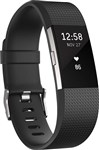 Fitbit Charge 2 Heart Rate + Fitness Band Black - Large, B