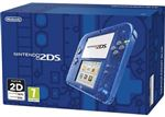 Nintendo 2DS Transparent Blue, Boxed