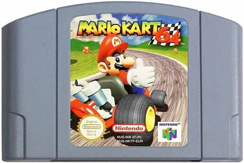 mario kart 64 unboxed cex uk buy sell donate. Black Bedroom Furniture Sets. Home Design Ideas