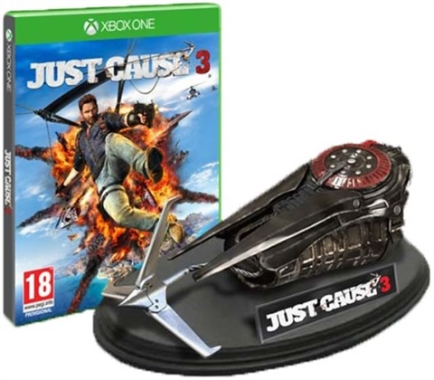 Vote for just cause 3 collector's edition goodies.