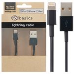 CeX basics - Apple Certified Lightning Cable Black 1m