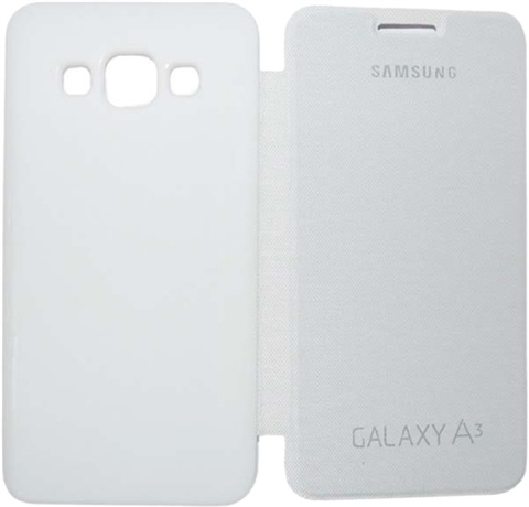 super popular 3d5f1 63eac Samsung Galaxy A3 Flip Cover White - CeX (UK): - Buy, Sell, Donate