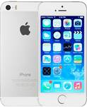 Apple iPhone 5S 64GB Silver, Unlocked A