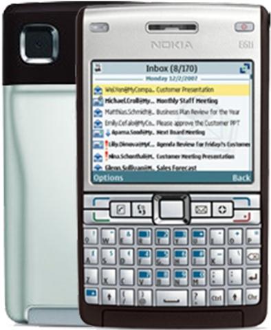 Nokia e61i facebook javascript