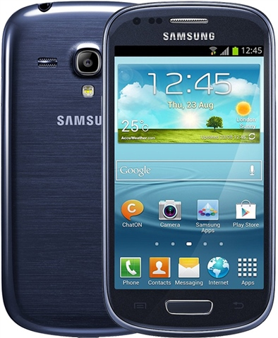 samsung   galaxy s3 mini 8gb blue   cex uk   buy sell donate