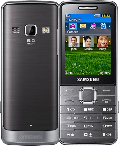 Samsung S5610 factory reset - YouTube